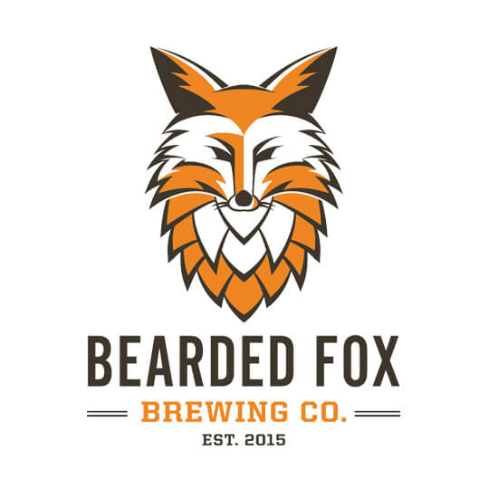 Beer-Chronicle-Houston-Craft-Beer-Review-Brewery-bearded-fox-brewing-logo-orange-fox-with-a-beard-made-of-a-hop