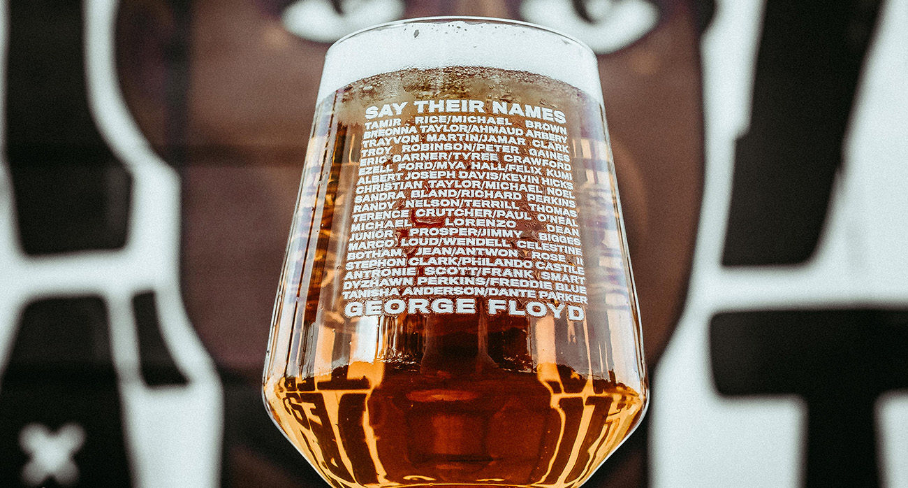 Beer-Chronicle-George-Floyd-Glass-_0003_-nicky-davis-george-floyd-mural-josh-olalde