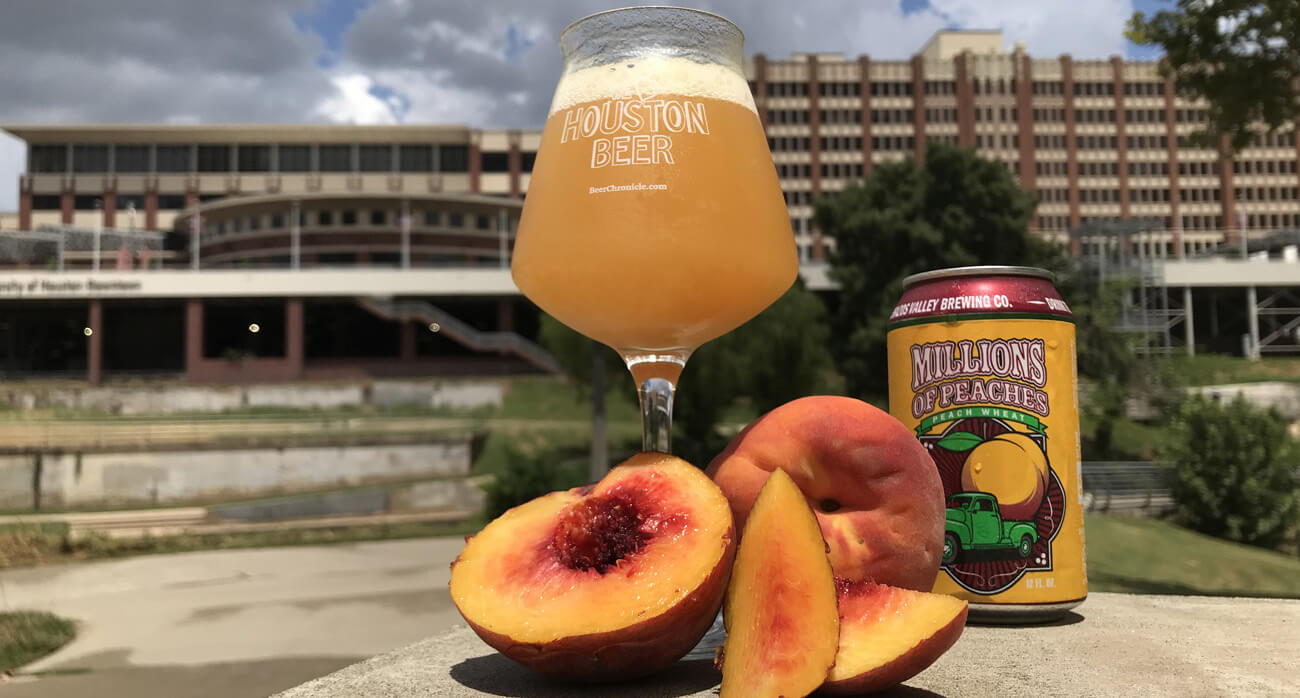 Beer-Chronicle-Houston-Brazos-valley-millions-of-peaches-beer-we-love-houston-beer-glass