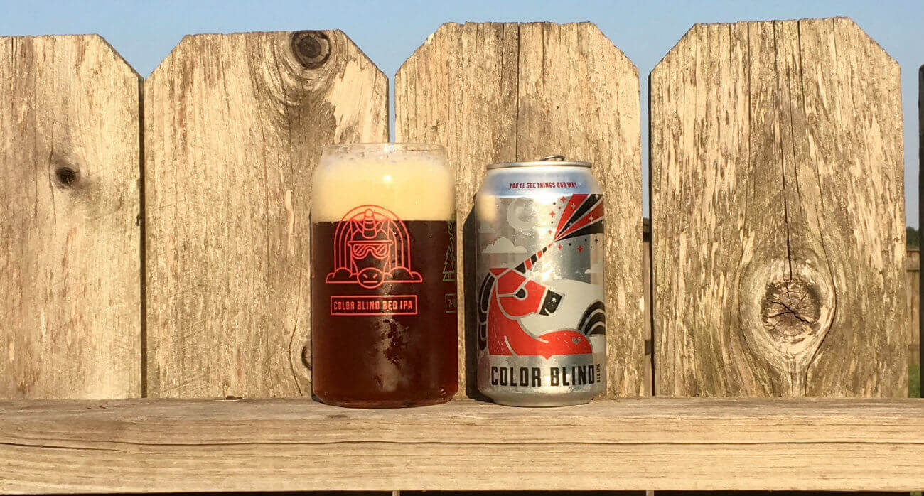 Beer-Chronicle-Houston-Craft-Beer-Review-11-Below-Brewing-Color-Blind-Pint-Glass-Next-To-Can