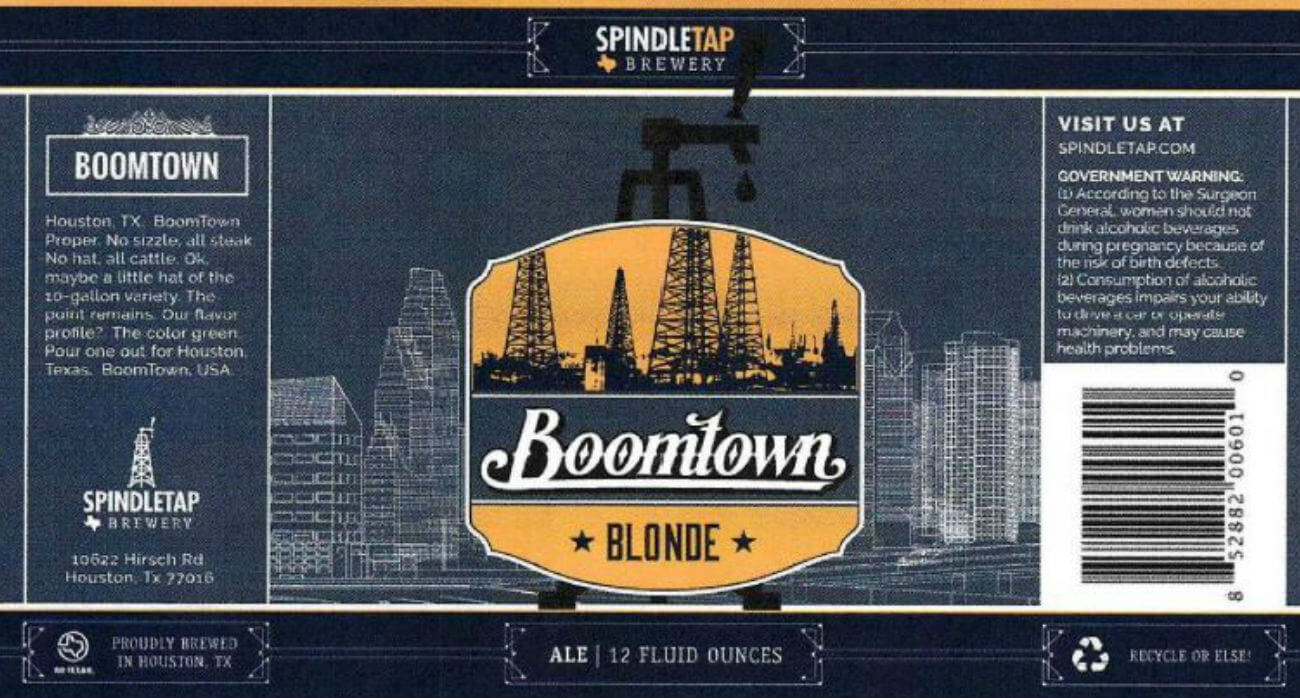 Beer-Chronicle-Houston-Craft-Beer-Review-Boomtown-Blonde-lable