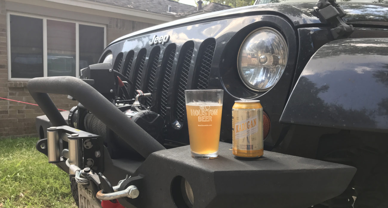 Beer-Chronicle-Houston-Craft-Beer-Review-New-Republic-Brewing-Co-Kadigan-Jeep