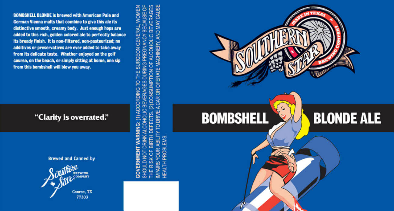 beer-chronicle-houston-craft-beer-review-southern-star-bombshell-blonde-beer-label