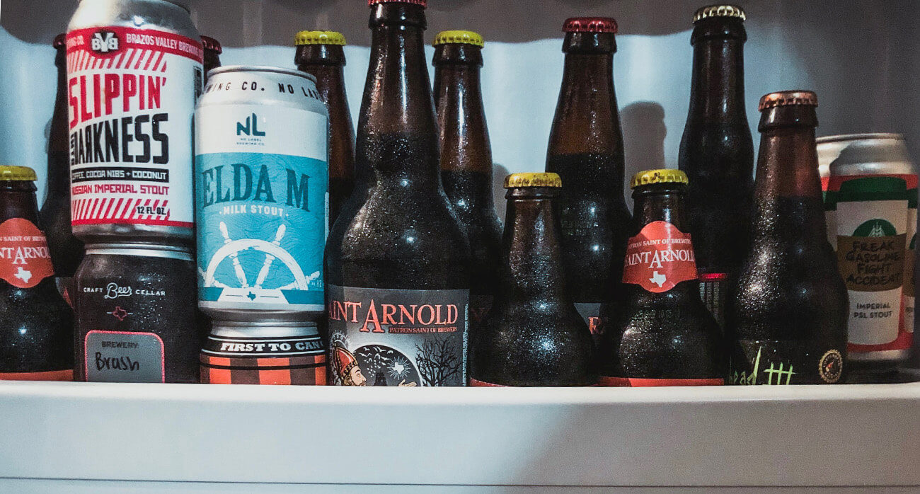 Beer-Chronicle-Houston-beer-fridge-how-to-saint-arnold-pumpkinator-vintage