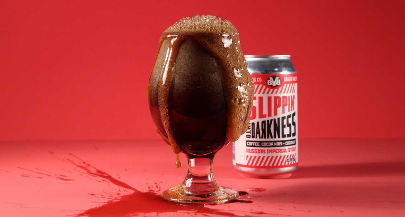 Beer-Chronicle-Houston-brazos-valley-slippin-into-darkness-beer-spill-shot