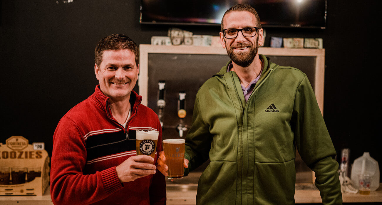 Beer-Chronicle-Houston-brewery-in-spring-tx-fortress-beerworks-rob-fleming-dion-billard
