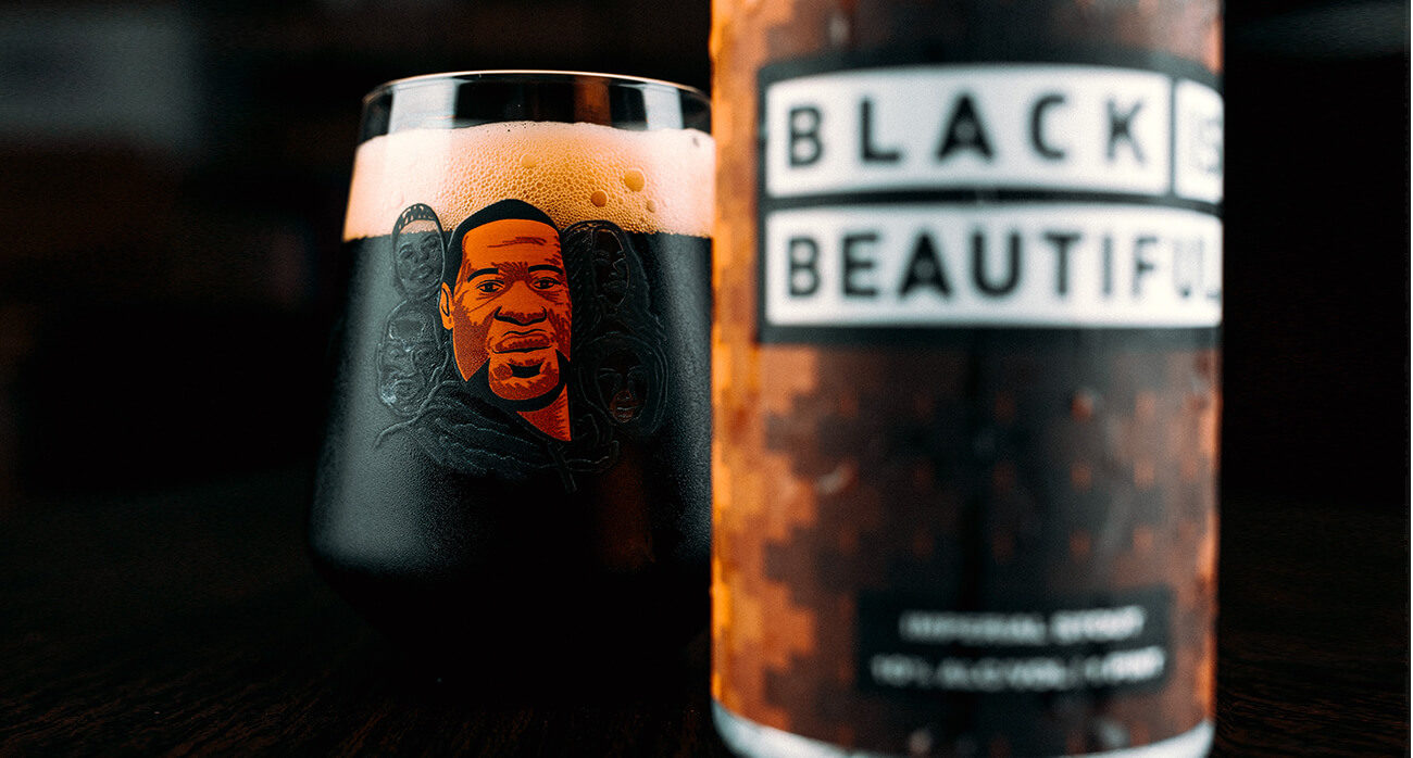 Beer-Chronicle-weathered-souls-black-is-beautiful-beer-collaboration-_0000_-josh-olalde-george-floyd-glass